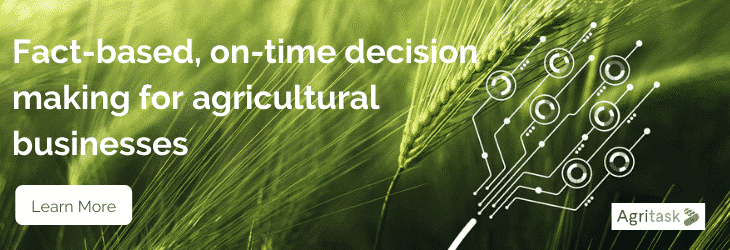 Banner syaing: Fact-based, on-time decision making for agricultural businesses